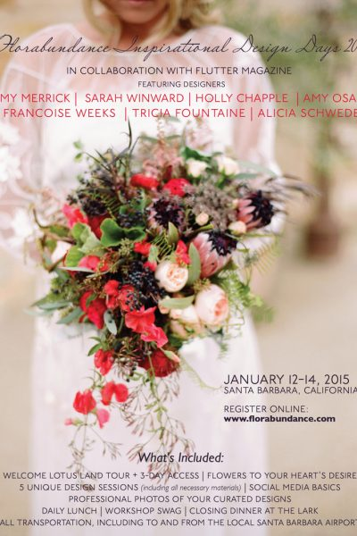 Florabundance Inspirational Design Days 2015