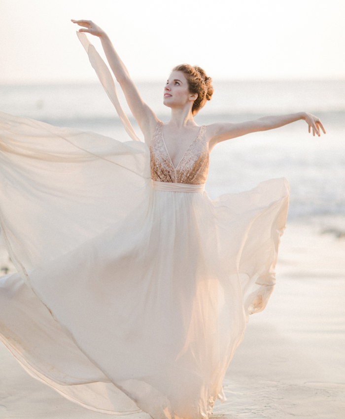 Tiny Dancer: A Ballet-Inspired Bride