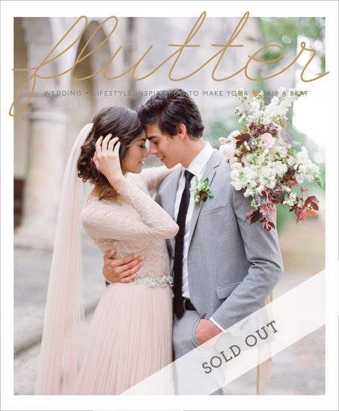 Flutter Wedding Magazine Issue No. 5