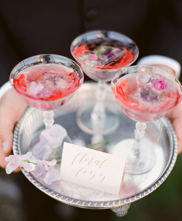 Gemini Cocktail Floral Fizz