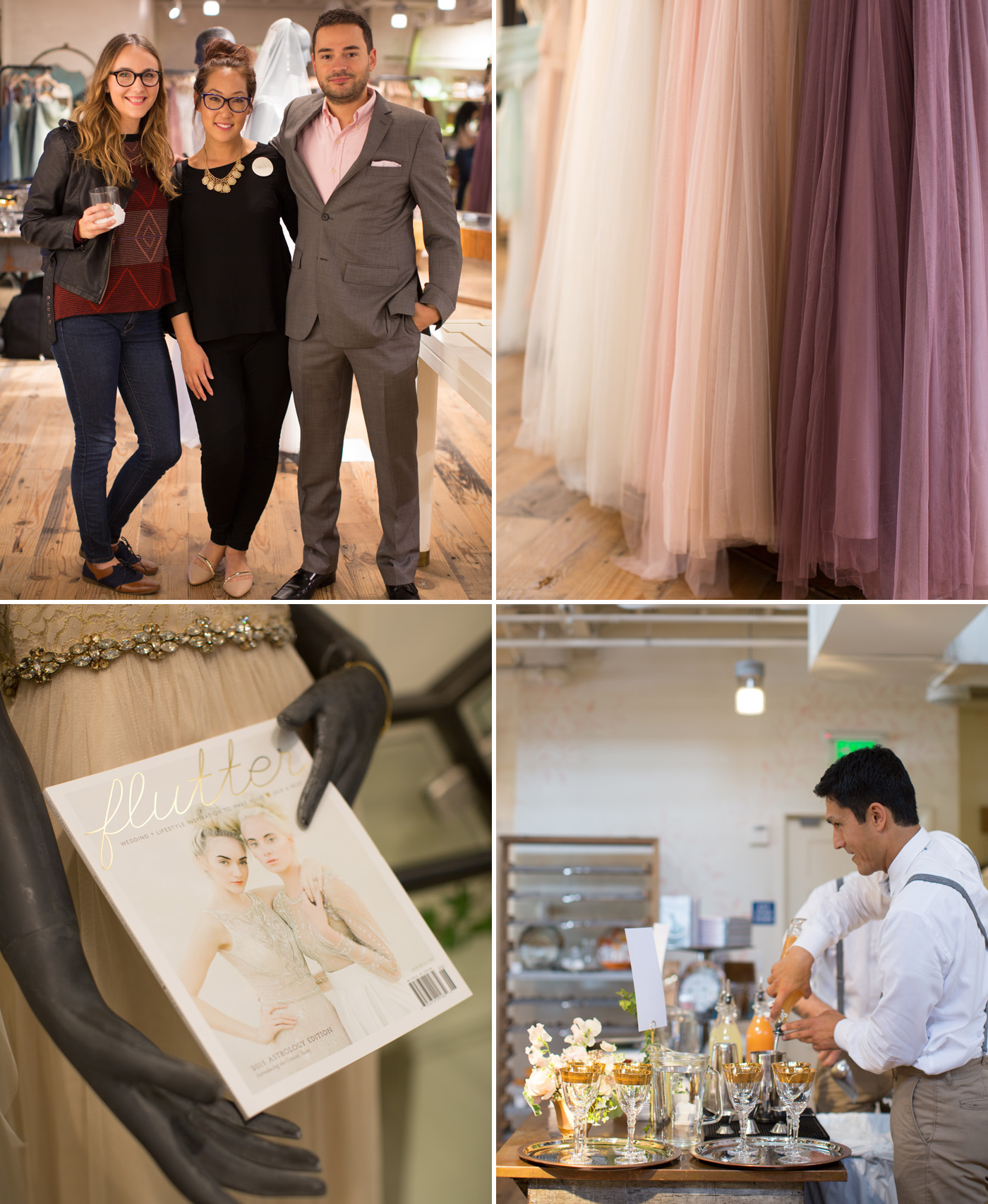Flutter Magazine Party at BHLDN Beverly Hills