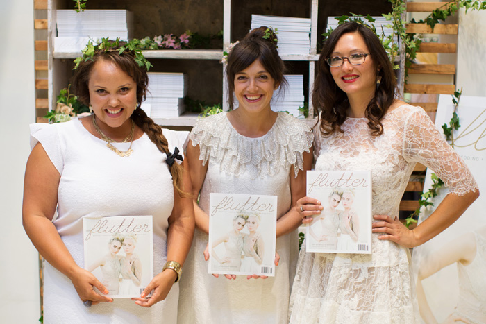 Flutter Magazine Party at BHLDN