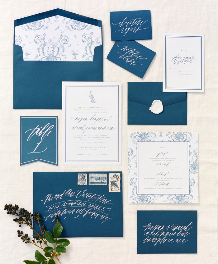 pisces invitation suite
