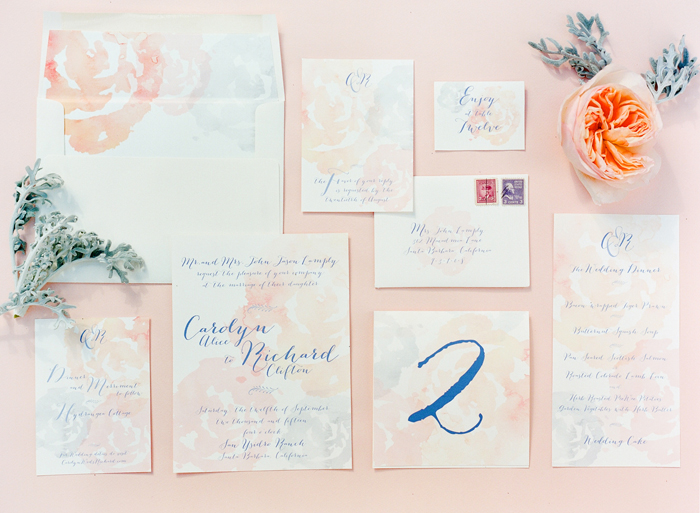 virgo wedding invitations