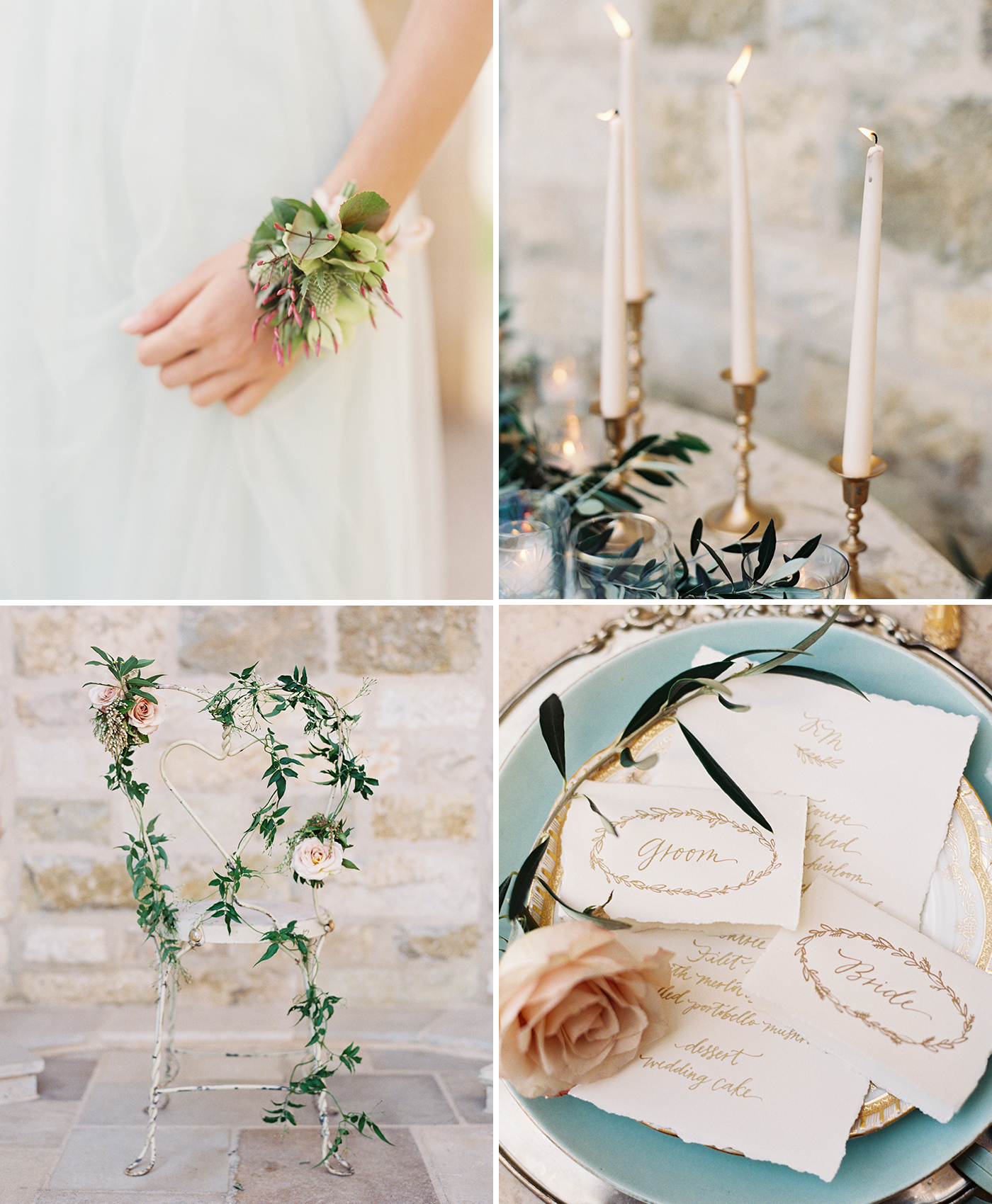 Vineyard Wedding Details, Wedding Flowers