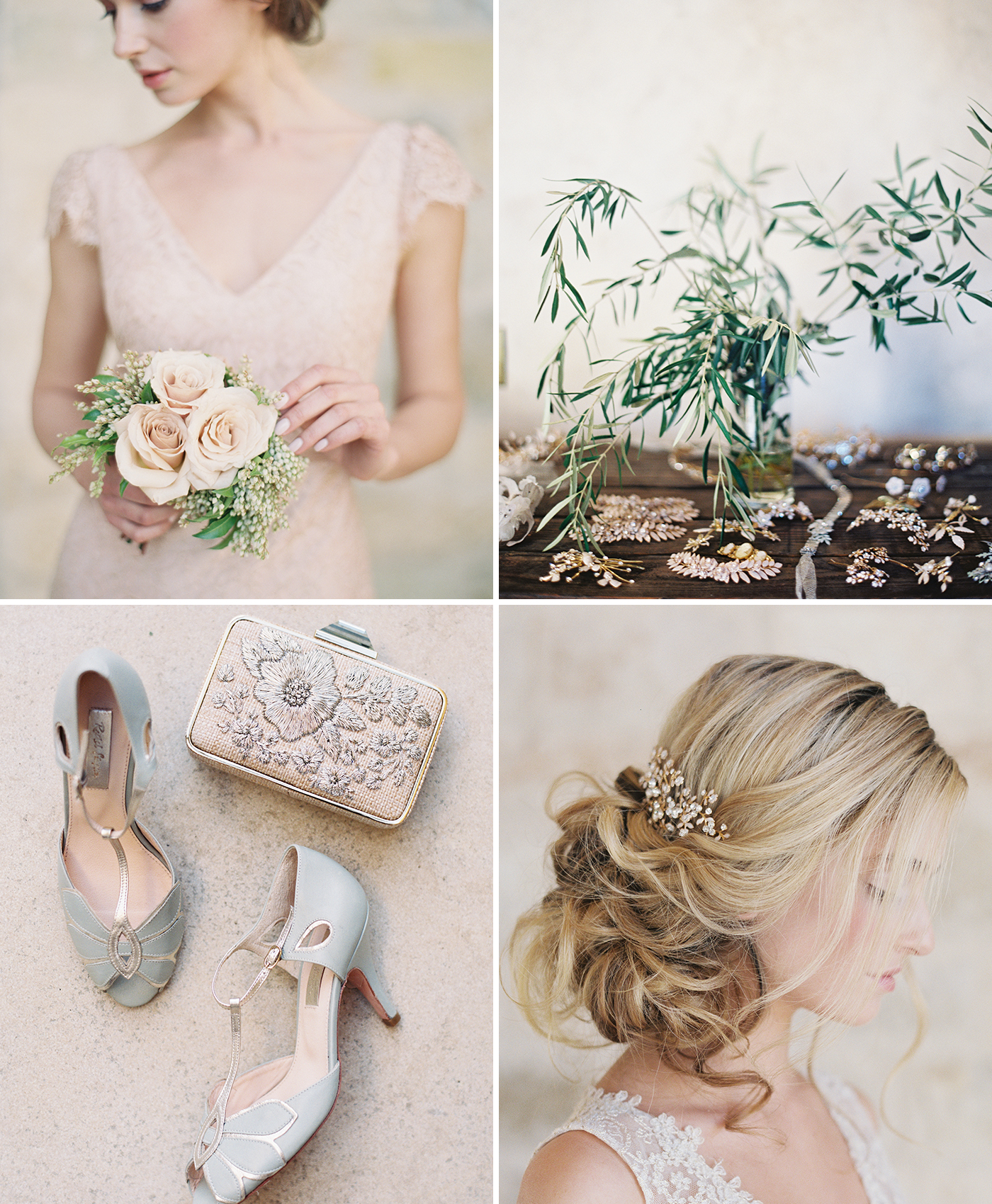 Bridesmaid Accessories inspired by Jenny Yoo
