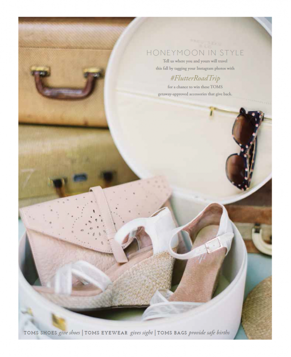 Honeymoon Travel Giveaway with TOMS