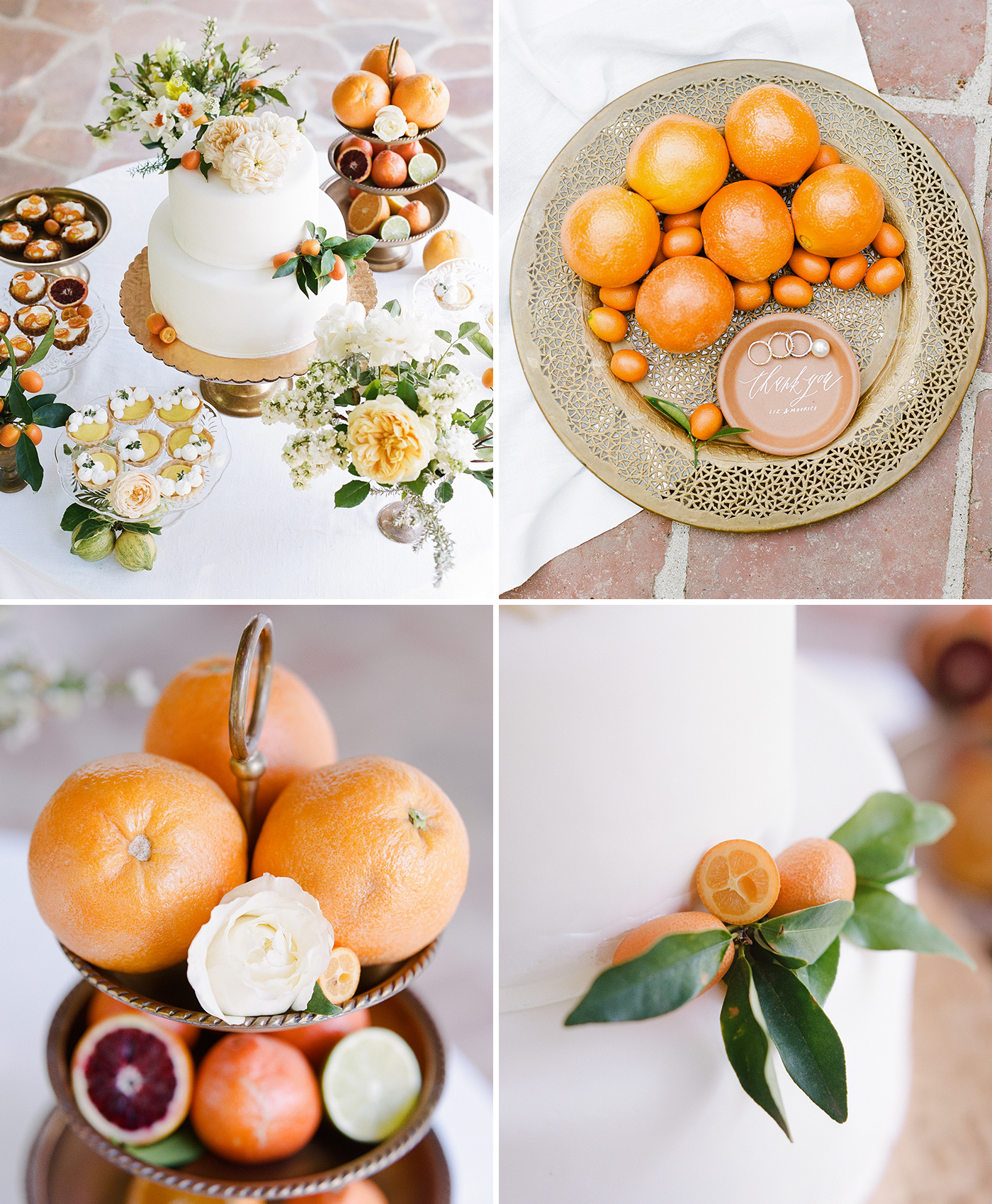 Citrus-inspired Wedding
