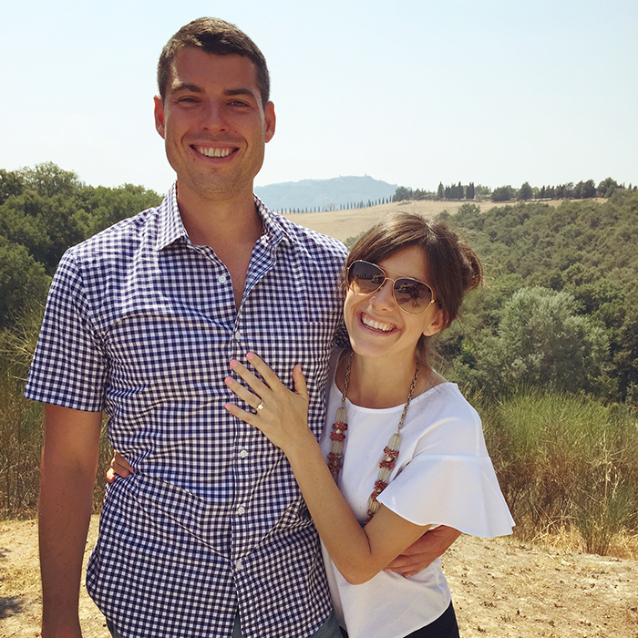 My Tuscan Engagement