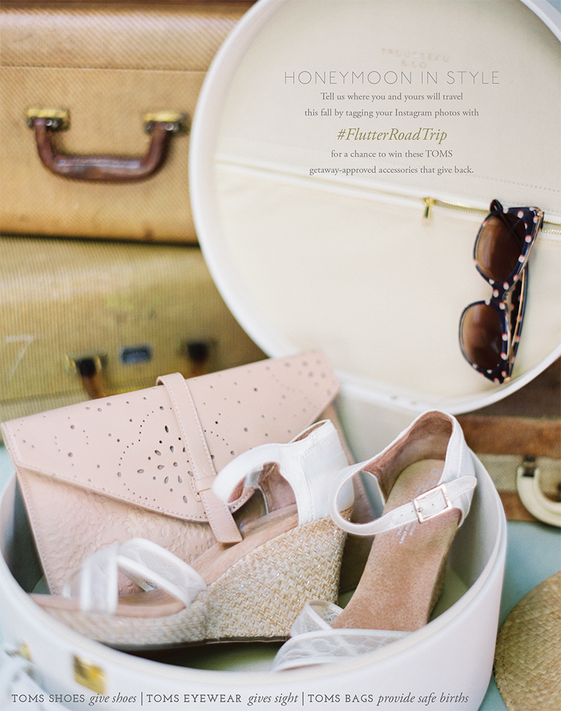 honeymoon style giveaway with TOMS