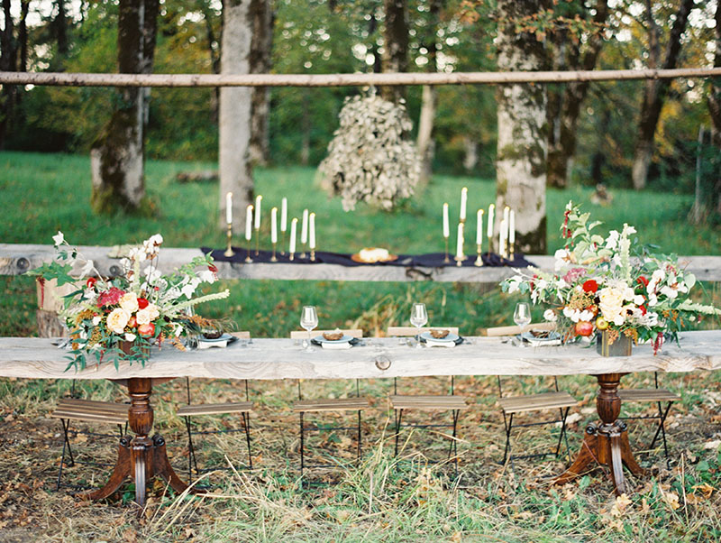 holiday tablescape photographed by erich mcvey