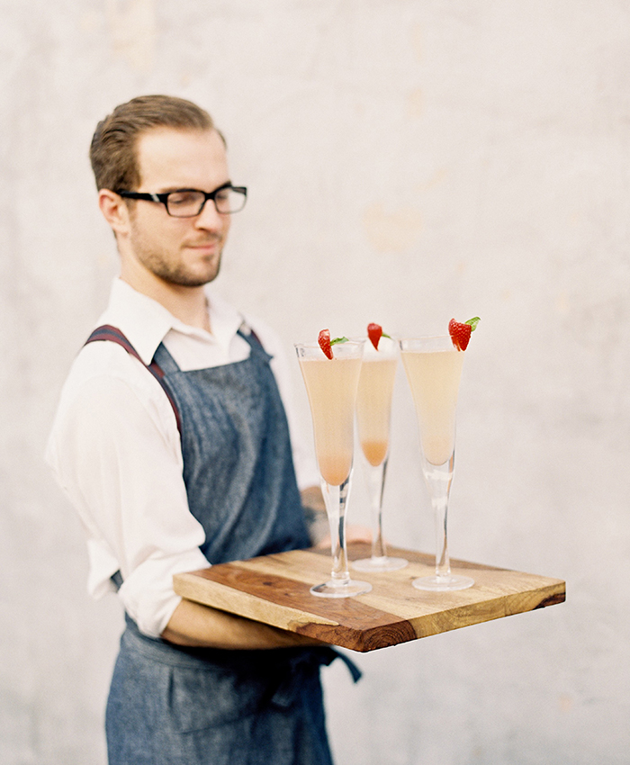 Valentine's Day Champagne Cocktail Recipe