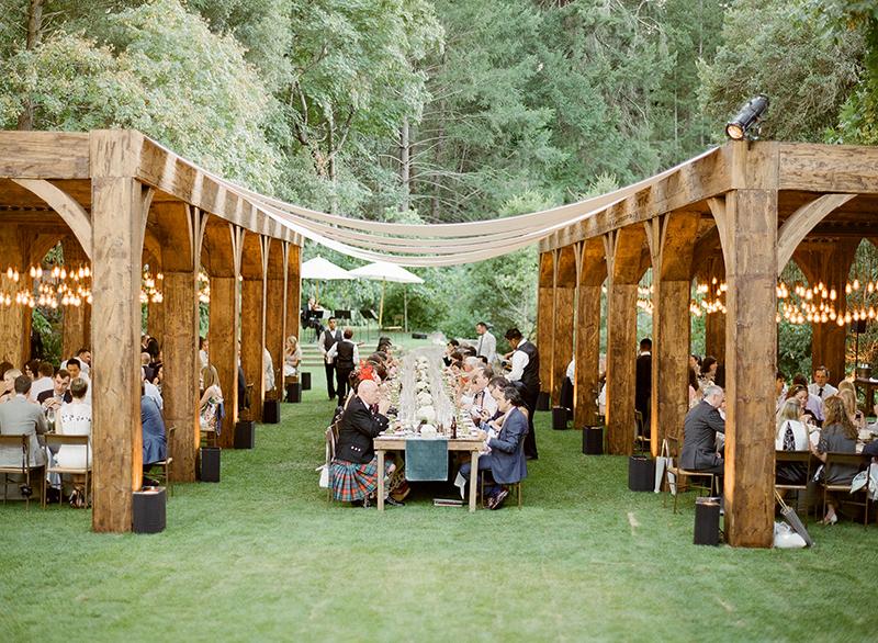 napa meadowood wedding reception