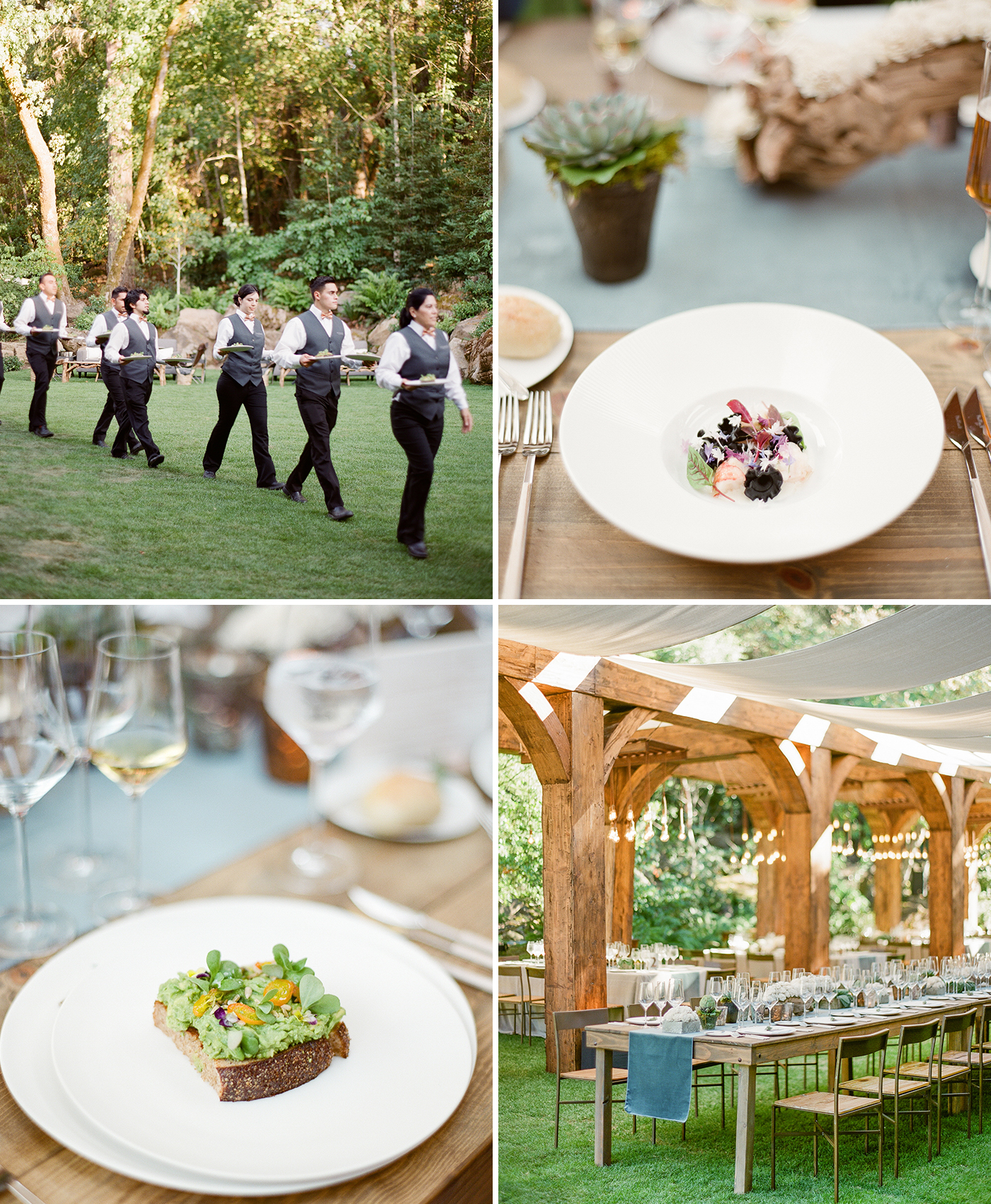 napa meadowood wedding reception copy