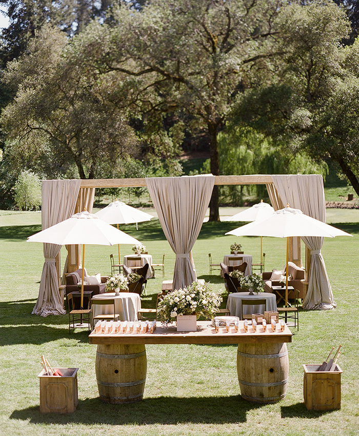 napa meadowood masculine wedding