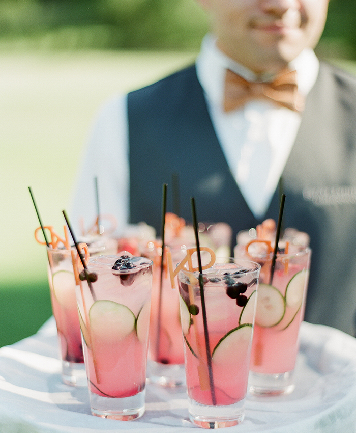 napa wedding lemonade cocktails
