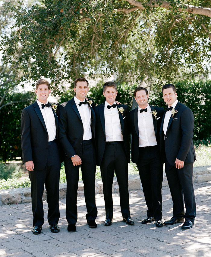 San Ysidro Ranch Santa Barbara Wedding Groomsmen
