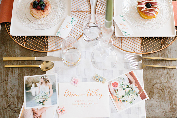 spring donut brunch party inspiration