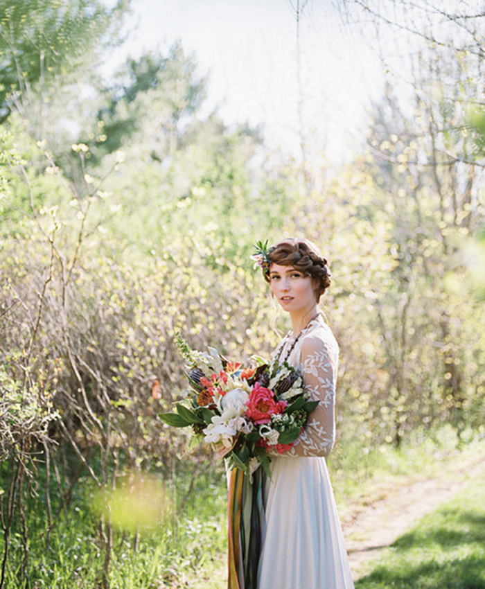 Wildly Elegant: the Modern Bohemian Bride