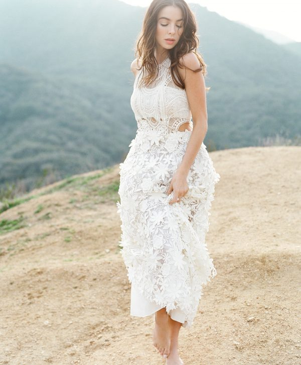 Bohemian Bridal Style | Photo © Lacie Hansen