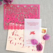 A Very Flutter Wedding: Stationery Part One