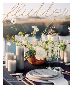 Flutter Magazine Issue No. 11 | Small Gatherings | Cover by Amanda Wei