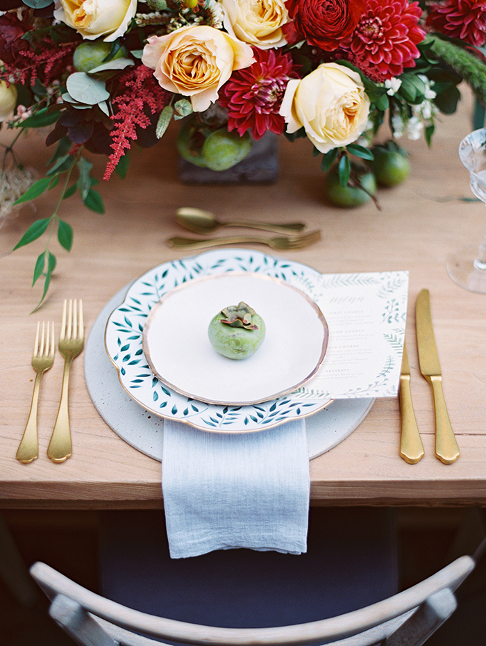 flutter magazine ark rentals place setting