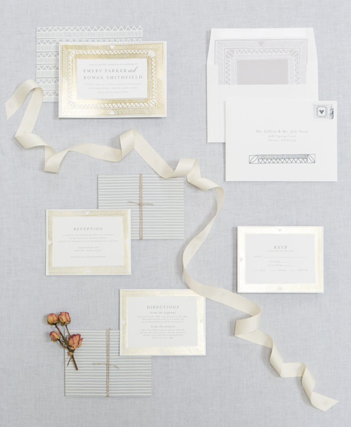 Going for the Gold – A Suite Giveaway from Minted