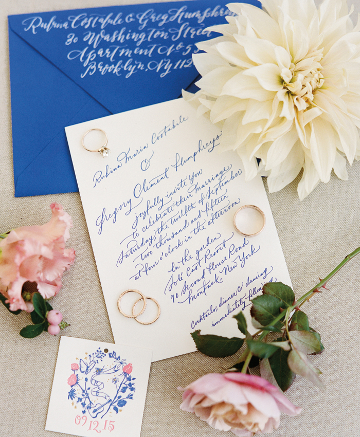 hamptons wedding invitation coastal wedding invitation