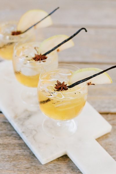Vanilla Bean Pear Margarita