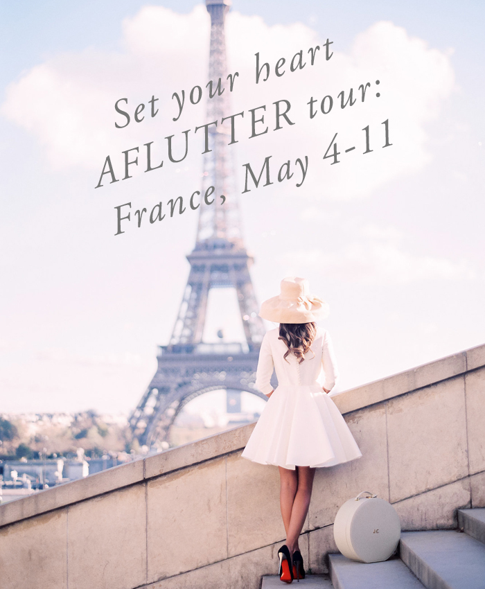 Set Your Heart Aflutter Tour: France 2017