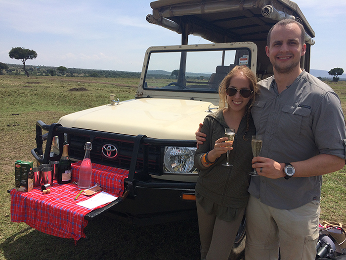 honeymoon safari africa