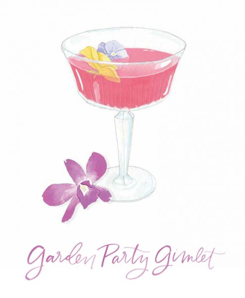 Spring Cocktail Recipes with Bit By A Fox