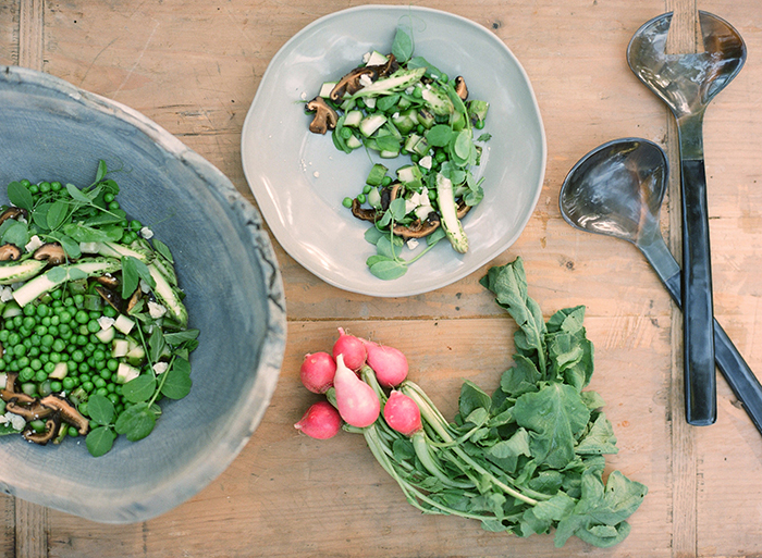 spring pea salad recipe