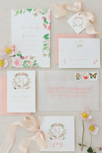 A Very Flutter Wedding: The Stationery Suite