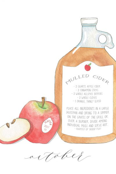 A Recipe for Mulled Cider
