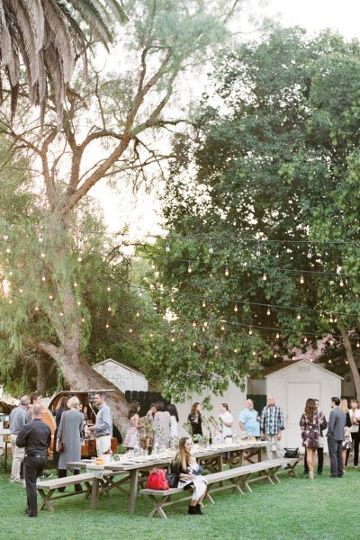 A Very Flutter Wedding: Welcome Gathering