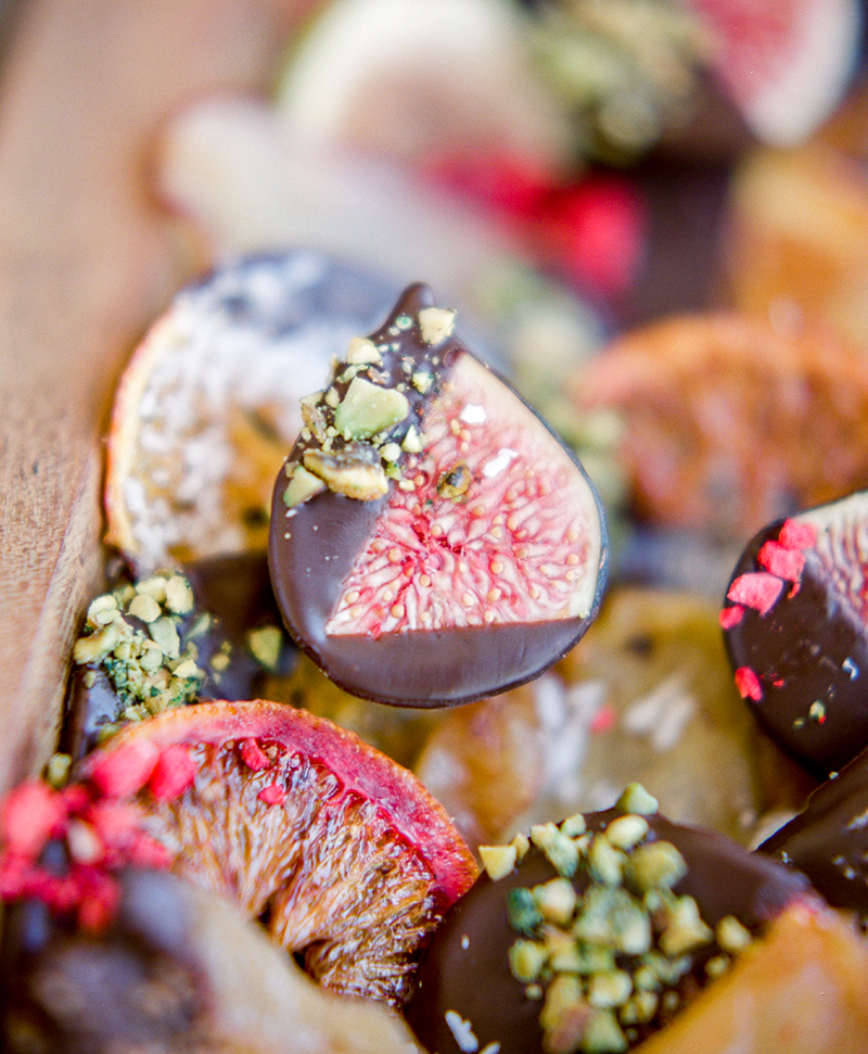 Kitchen For Exploring Foods: Chocolate Dipped Dried Fruit