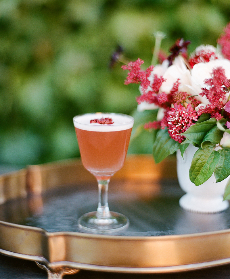 Flowering Thanksgiving Cocktails