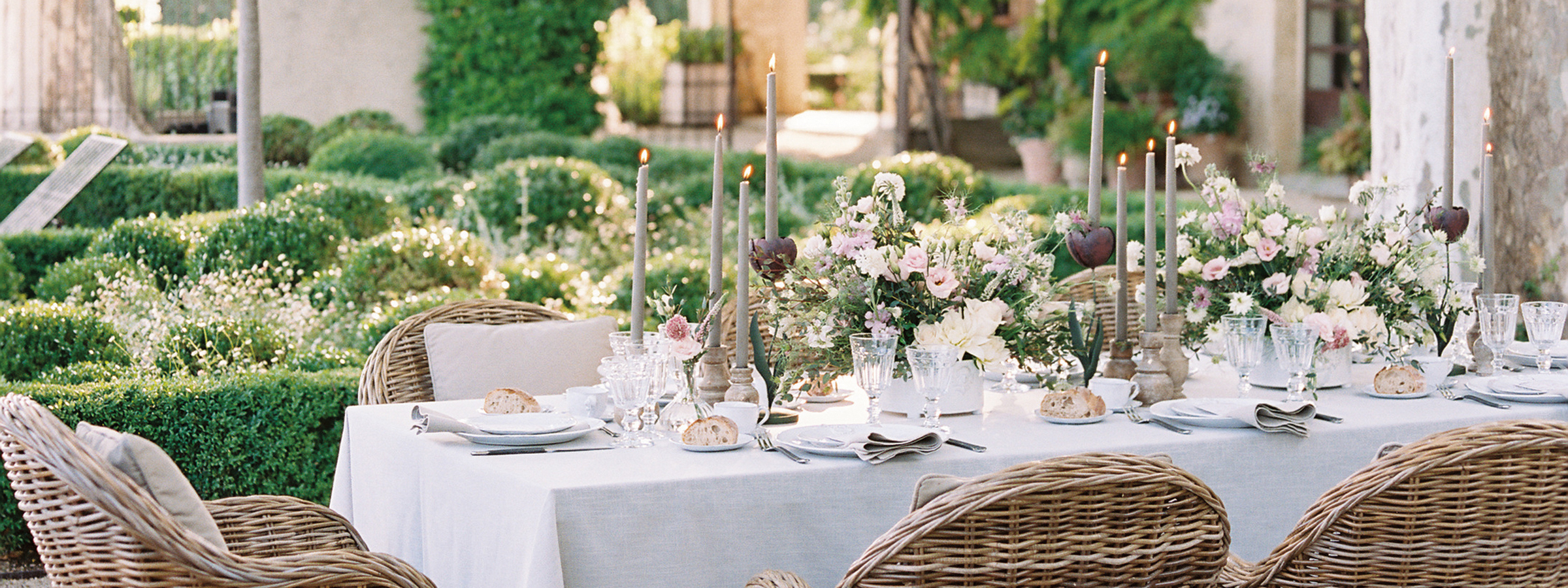 Flutter Magazine Issue 17 Provence Dinner Party at Clos Saint Esteve with Wep in Provence