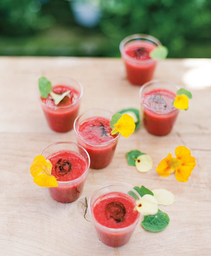 Flutter Magazine Chilled Strawberry Balsamic Soup Recipe