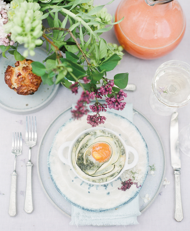 Flutter Magazine - Lilac Brunch Recipe