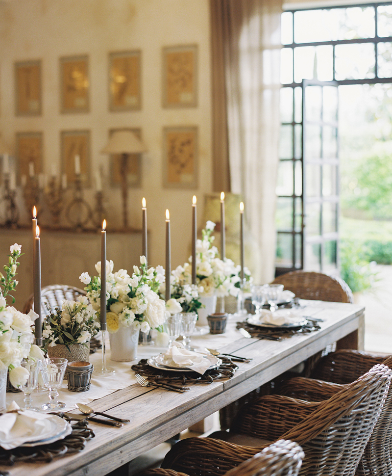 Flutter Magazine Provence rustic dinner party at domaine clos saint esteve 3