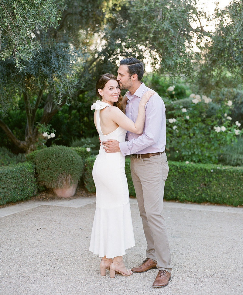 Flutter Magazine - Ojai Casa Elar Fiesta Rehearsal Dinner style bride and groom