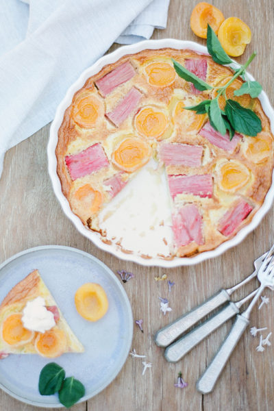 Fruit & Almond Clafoutis