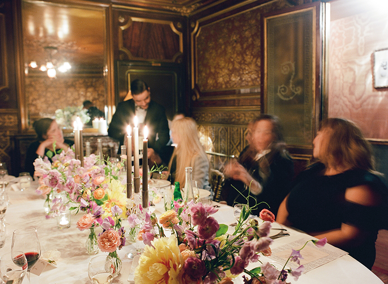 Flutter Magazine - Midnight in Paris dinner at Laperouse
