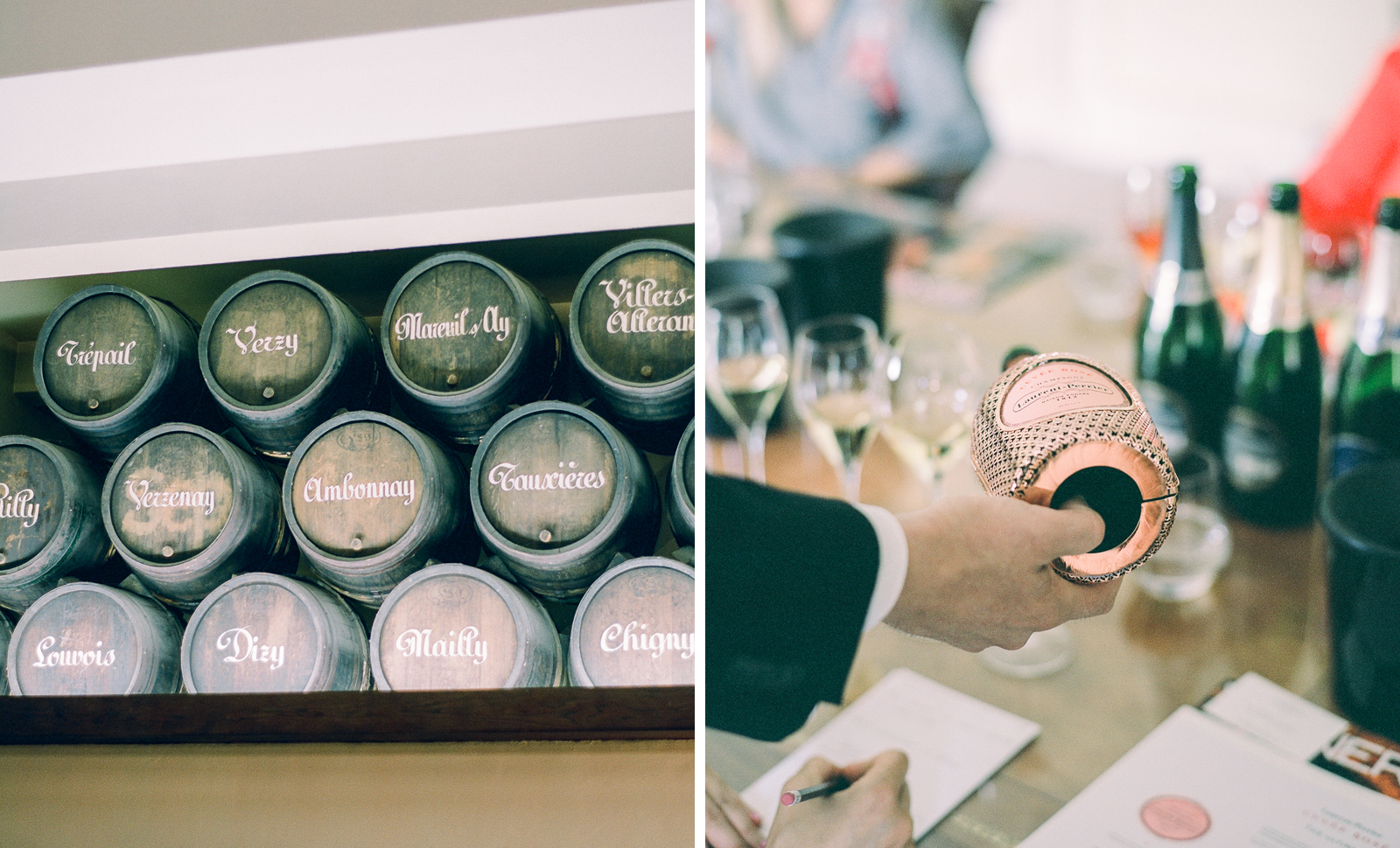Flutter Magazine Hearts Aflutter Tour - Champagne tasting at Laurent-Perrier in Epernay