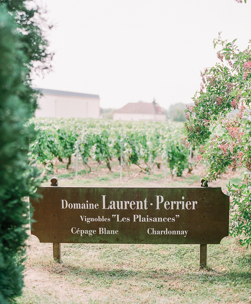 Flutter Magazine Hearts Aflutter Tour - visiting Laurent-Perrier in Epernay France