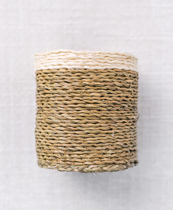 natural woven container