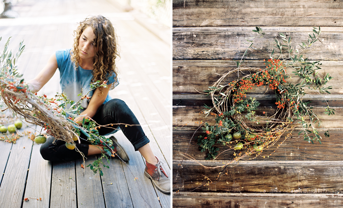 DIY Holiday Wreaths with Katie Chirgotis